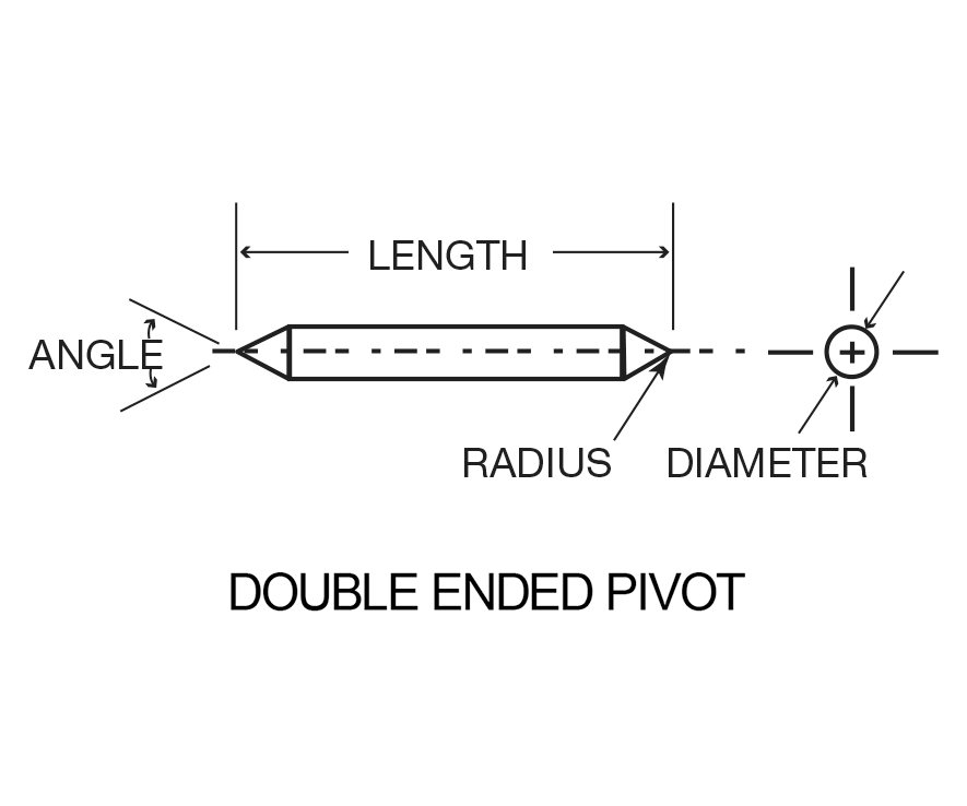 Swiss Jewel Double Ended Pivot Diagram