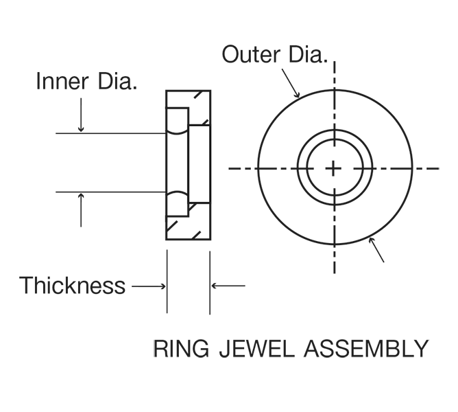 Swiss Jewel Ring Jewel Assembly Diagram