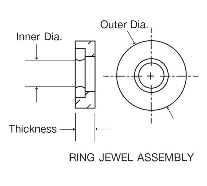 Swiss Jewel Ring Jewel Assembly Diagram