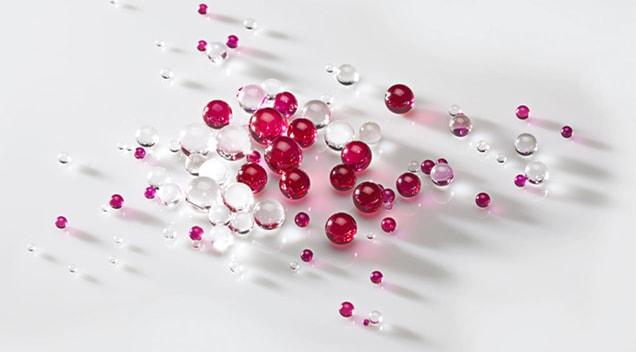 Swiss Jewel Sapphire Ruby Balls